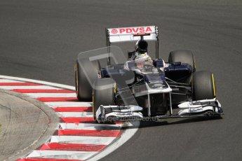 © 2012 Octane Photographic Ltd. Hungarian GP Hungaroring - Saturday 28th July 2012 - F1 Qualifying. Williams FW34 - Pastor Maldonado. Digital Ref : 0430lw7d7116