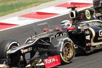 © 2012 Octane Photographic Ltd. Hungarian GP Hungaroring - Saturday 28th July 2012 - F1 Qualifying. Lotus E20 - Kimi Raikkonen. Digital Ref : 0430lw7d7143