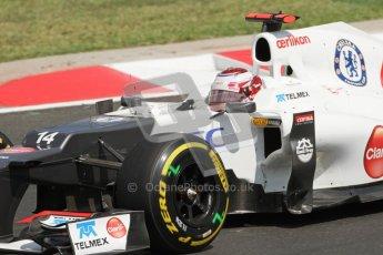 © 2012 Octane Photographic Ltd. Hungarian GP Hungaroring - Saturday 28th July 2012 - F1 Qualifying. Sauber C31 - Kamui Kobayashi. Digital Ref : 0430lw7d7226