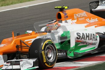 © 2012 Octane Photographic Ltd. Hungarian GP Hungaroring - Saturday 28th July 2012 - F1 Qualifying. Force India VJM05 - Nico Hulkenberg. Digital Ref : 0430lw7d7260