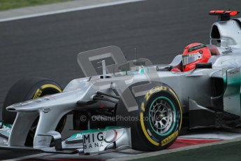© 2012 Octane Photographic Ltd. Hungarian GP Hungaroring - Saturday 28th July 2012 - F1 Qualifying. Mercedes W03 - Michael Schumacher. Digital Ref : 0430lw7d7371