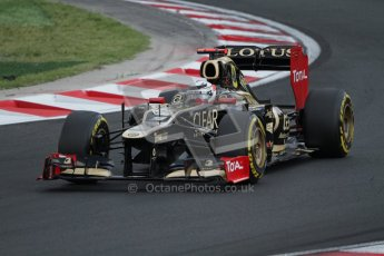 © 2012 Octane Photographic Ltd. Hungarian GP Hungaroring - Saturday 28th July 2012 - F1 Qualifying. Lotus E20 - Kimi Raikkonen. Digital Ref : 0430lw7d7386