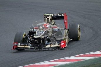 © 2012 Octane Photographic Ltd. Hungarian GP Hungaroring - Saturday 28th July 2012 - F1 Qualifying. Lotus E20 - Romain Grosjean. Digital Ref : 0430lw7d7459