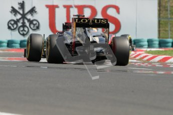 © 2012 Octane Photographic Ltd. Hungarian GP Hungaroring - Saturday 28th July 2012 - F1 Qualifying. Lotus E20 - Kimi Raikkonen. Digital Ref : 0430lw7d7798