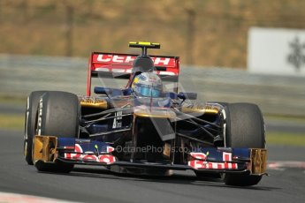 © 2012 Octane Photographic Ltd. Hungarian GP Hungaroring - Friday 27th July 2012 - F1 Practice 2. Toro Rosso STR7 - Jean-Eric Vergne. Digital Ref : 0426lw1d5216