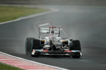 © 2012 Octane Photographic Ltd. Hungarian GP Hungaroring - Friday 27th July 2012 - F1 Practice 2. Sauber C31 - Kamui Kobayashi. Digital Ref : 0426lw1d5642