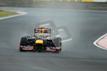 © 2012 Octane Photographic Ltd. Hungarian GP Hungaroring - Friday 27th July 2012 - F1 Practice 2. Red Bull RB8 - Sebastian Vettel. Digital Ref : 0426lw1d5694