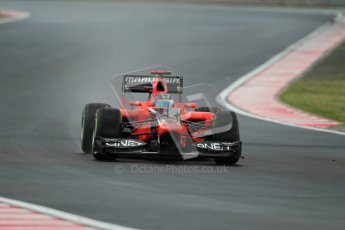 © 2012 Octane Photographic Ltd. Hungarian GP Hungaroring - Friday 27th July 2012 - F1 Practice 2. Marussia MR01 - Timo Glock. Digital Ref : 0426lw1d5738