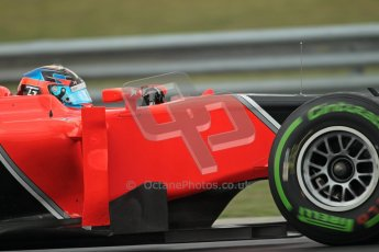 © 2012 Octane Photographic Ltd. Hungarian GP Hungaroring - Friday 27th July 2012 - F1 Practice 2. Marussia MR01 - Timo Glock. Digital Ref : 0426lw1d5767