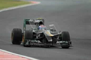 © 2012 Octane Photographic Ltd. Hungarian GP Hungaroring - Friday 27th July 2012 - F1 Practice 2. Caterham CT01 - Vitaly Petrov. Digital Ref : 0426lw1d5930