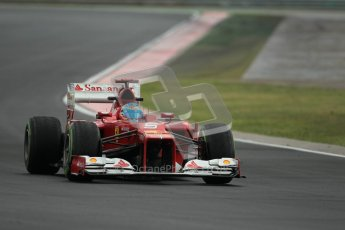 © 2012 Octane Photographic Ltd. Hungarian GP Hungaroring - Friday 27th July 2012 - F1 Practice 2. Ferrari F2012 - Fernando Alonso. Digital Ref : 0426lw1d6160