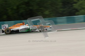 © 2012 Octane Photographic Ltd. Hungarian GP Hungaroring - Friday 27th July 2012 - F1 Practice 2. Force India VJM05 - Paul di Resta. Digital Ref : 0426lw7d5637