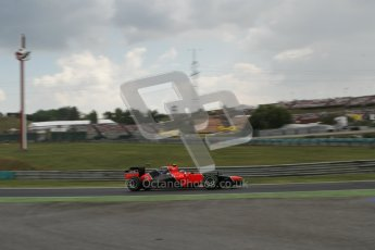 © 2012 Octane Photographic Ltd. Hungarian GP Hungaroring - Friday 27th July 2012 - F1 Practice 2. Marussia MR01 - Charles Pic. Digital Ref : 0426lw7d5848