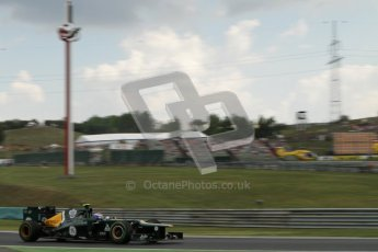 © 2012 Octane Photographic Ltd. Hungarian GP Hungaroring - Friday 27th July 2012 - F1 Practice 2. Caterham CT01 - Vitaly Petrov. Digital Ref : 0426lw7d5855