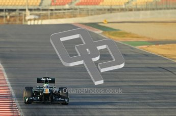 © 2012 Octane Photographic Ltd. Barcelona Winter Test 1 Day 1 - Tuesday 21st February 2012. Caterham CT01 - Heikki Kovalainen. Digital Ref : 0226lw1d6064