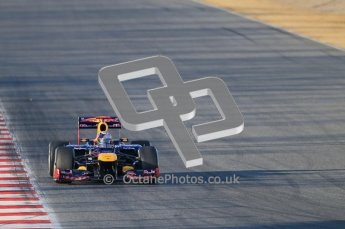 © 2012 Octane Photographic Ltd. Barcelona Winter Test 1 Day 1 - Tuesday 21st February 2012. Red Bull RB8 - Sebastian Vettel. Digital Ref : 0226lw1d6166