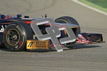© 2012 Octane Photographic Ltd. Barcelona Winter Test 1 Day 1 - Tuesday 21st February 2012. Toro Rosso STR7 - Daniel Ricciardo. Digital Ref : 0226lw1d6731