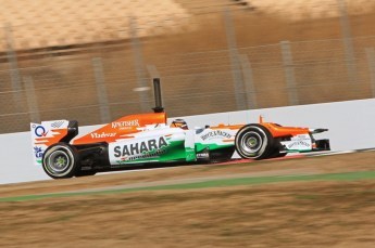 © 2012 Octane Photographic Ltd. Barcelona Winter Test 1 Day 1 - Tuesday 21st February 2012. Force India VJM05 - Nico Hulkenberg. Digital Ref : 0226lw7d5556