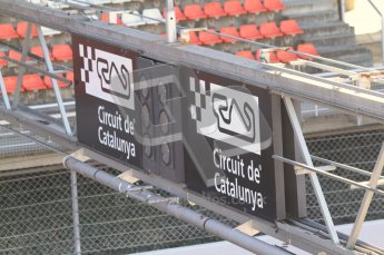 © 2012 Octane Photographic Ltd. Barcelona Winter Test 1 Day 1 - Tuesday 21st February 2012. Atmosphere. Digital Ref : 0226lw7d5742