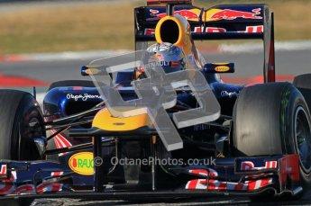 © 2012 Octane Photographic Ltd. Barcelona Winter Test 1 Day 2 - Wednesday 21st February 2012. Red Bull RB8 - Sebastian Vettel. Digital Ref : 0227lw1d7875
