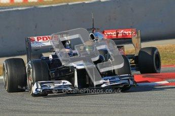 © 2012 Octane Photographic Ltd. Barcelona Winter Test 1 Day 2 - Wednesday 21st February 2012. Williams FW34 - Valtteri Bottas. Digital Ref : 0227lw1d7927