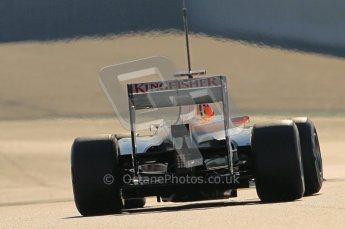 © 2012 Octane Photographic Ltd. Barcelona Winter Test 1 Day 2 - Wednesday 21st February 2012. Force India VJM05 - Nico Hulkenberg. Digital Ref : 0227lw1d8414