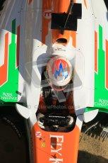 © 2012 Octane Photographic Ltd. Barcelona Winter Test 1 Day 3 - Thursday 23rd February 2012. Force India VJM05 - Paul di Resta. Digital Ref : 0228cb1d9795