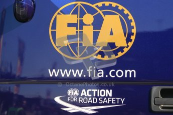 © 2012 Octane Photographic Ltd. Barcelona Winter Test 1 Day 3 - Thursday 23rd February 2012. FIA, road safety. Digital Ref : 0228cb1d9885