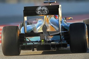 © 2012 Octane Photographic Ltd. Barcelona Winter Test 1 Day 3 - Thursday 23rd February 2012. Caterham CT01 - Vitaly Petrov. Digital Ref : 0228cb7d6360