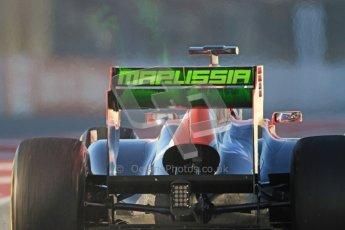 © 2012 Octane Photographic Ltd. Barcelona Winter Test 1 Day 3 - Thursday 23rd February 2012. Marussia MVR02 - Timo Glock. Digital Ref : 0228cb7d6366