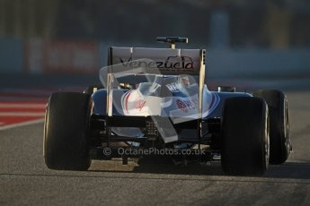 © 2012 Octane Photographic Ltd. Barcelona Winter Test 1 Day 3 - Thursday 23rd February 2012. Williams FW34 - Pastor Maldonado. Digital Ref : 0228cb7d6381