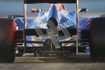 © 2012 Octane Photographic Ltd. Barcelona Winter Test 1 Day 3 - Thursday 23rd February 2012. Red Bull RB8 - Mark Webber. Digital Ref : 0228cb7d6409
