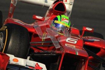 © 2012 Octane Photographic Ltd. Barcelona Winter Test 1 Day 3 - Thursday 23rd February 2012. Ferrari F2012 - Felipe Massa. Digital Ref : 0228cb7d6599