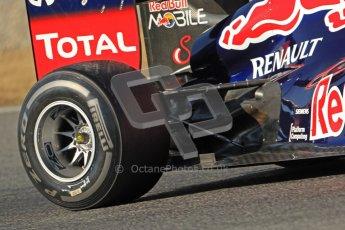 © 2012 Octane Photographic Ltd. Barcelona Winter Test 1 Day 3 - Thursday 23rd February 2012. Red Bull RB8 - Mark Webber. Digital Ref : 0228cb7d6670