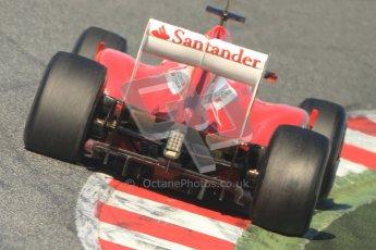 © 2012 Octane Photographic Ltd. Barcelona Winter Test 1 Day 3 - Thursday 23rd February 2012. Ferrari F2012 - Felipe Massa. Digital Ref : 0228cb7d6698