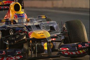 © 2012 Octane Photographic Ltd. Barcelona Winter Test 1 Day 3 - Thursday 23rd February 2012. Red Bull RB8 - Mark Webber. Digital Ref : 0228lw7d2720