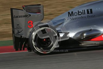 © 2012 Octane Photographic Ltd. Barcelona Winter Test 1 Day 3 - Thursday 23rd February 2012. McLaren MP4/27 - Jenson Button. Digital Ref : 0228lw7d3828