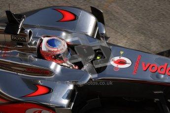© 2012 Octane Photographic Ltd. Barcelona Winter Test 1 Day 3 - Thursday 23rd February 2012. McLaren MP4/27 - Jenson Button. Digital Ref : 0228lw7d4164