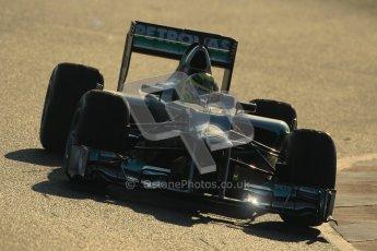 © 2012 Octane Photographic Ltd. Barcelona Winter Test 1 Day 4 - Friday 24th February 2012. Mercedes W03 - Nico Rosberg. Digital Ref : 0229cb1d9944
