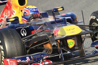 © 2012 Octane Photographic Ltd. Barcelona Winter Test 1 Day 4 - Friday 24th February 2012. Red Bull RB8 - Mark Webber. Digital Ref : 0229cb7d6863