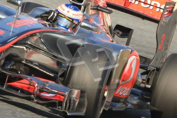 © 2012 Octane Photographic Ltd. Barcelona Winter Test 1 Day 4 - Friday 24th February 2012. McLaren MP4/27 - Jenson Button. Digital Ref : 0229cb7d6921