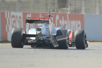 © 2012 Octane Photographic Ltd. Barcelona Winter Test 1 Day 4 - Friday 24th February 2012. McLaren MP4/27 - Jenson Button. Digital Ref : 0229cb7d7019