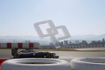 © 2012 Octane Photographic Ltd. Barcelona Winter Test 1 Day 4 - Friday 24th February 2012. Williams FW34 - Pastor Maldonado. Digital Ref : 0229lw7d5048