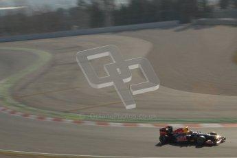 © 2012 Octane Photographic Ltd. Barcelona Winter Test 1 Day 4 - Friday 24th February 2012. Red Bull RB8 - Mark Webber. Digital Ref : 0229lw7d5199