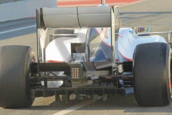 © 2012 Octane Photographic Ltd. Barcelona Winter Test 2 Day 1 - Thursday 1st March 2012. Sauber C31 - Sergio Perez. Digital Ref : 0231cb1d1773