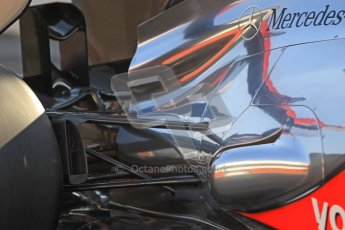 © 2012 Octane Photographic Ltd. Barcelona Winter Test 2 Day 1 - Thursday 1st March 2012. McLaren MP4/27 - Jenson Button. Digital Ref : 0231cb1d1795