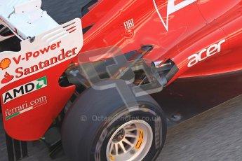 © 2012 Octane Photographic Ltd. Barcelona Winter Test 2 Day 1 - Thursday 1st March 2012. Ferrari F2012 - Felipe Massa. Digital Ref : 0231cb1d1943