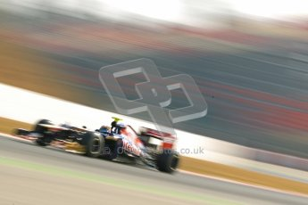 © 2012 Octane Photographic Ltd. Barcelona Winter Test 2 Day 1 - Thursday 24th March 2012. Toro Rosso STR7 - Jean-Eric Vergne. Digital Ref : 0231cb1d2140