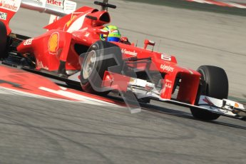 © 2012 Octane Photographic Ltd. Barcelona Winter Test 2 Day 1 - Thursday 1st March 2012. Ferrari F2012 - Felipe Massa. Digital Ref : 0231cb7d8220