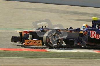 © 2012 Octane Photographic Ltd. Barcelona Winter Test 2 Day 1 - Thursday 24th March 2012. Toro Rosso STR7 - Jean-Eric Vergne. Digital Ref : 0231lw7d0185